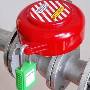 Блокиратор основания вентилей , задвижек со съемной ручкой EP-V45