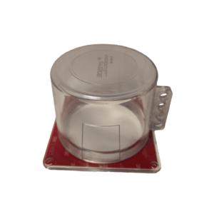 Блокиратор кнопки круглый с квадратной базой BD-D60-2